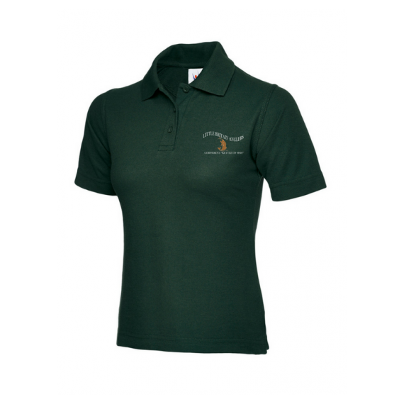 Bottle Green Ladies Polo Shirt - LBA (1)