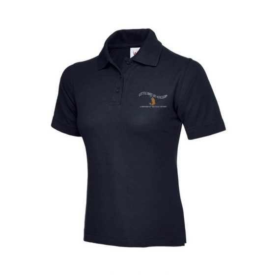 Navy Ladies Polo Shirt - LBA (1)